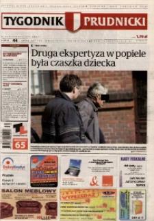 Tygodnik Prudnicki : prywatna gazeta lokalna gmin : Prudnik, Biała, Głogówek, Korfantów, Lubrza, Strzeleczki, Walce. R. 17, nr 44 (878).