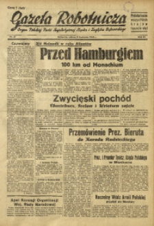 Gazeta Robotnicza, 1945, R. 44, nr 21