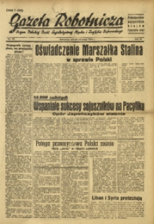 Gazeta Robotnicza, 1945, R. 44, nr 50