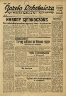 Gazeta Robotnicza, 1945, R. 44, nr 85