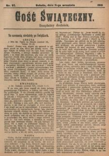 Gość Świąteczny, 1915, [R. 13], nr 37