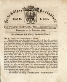 Leobschützer Kreisblatt, 1843, Jg. 1, St. 14