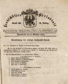 Leobschützer Kreisblatt, 1843, Jg. 1, St. 19