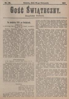 Gość Świąteczny, 1915, [R. 13], nr 46