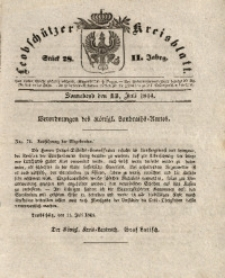 Leobschützer Kreisblatt, 1844, Jg. 2, St. 28
