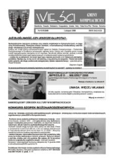 Wieści Gminy Komprachcice : Chmielowice, Domecko, Dziekaństwo [...] 2008, nr 9 (19).