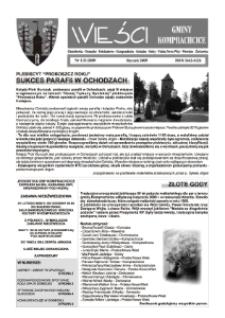 Wieści Gminy Komprachcice : Chmielowice, Domecko, Dziekaństwo [...] 2009, nr 1 (21).