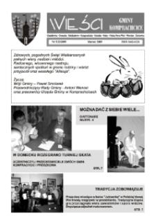 Wieści Gminy Komprachcice : Chmielowice, Domecko, Dziekaństwo [...] 2009, nr 3 (23).