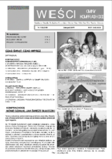 Wieści Gminy Komprachcice : Chmielowice, Domecko, Dziekaństwo [...] 2009, nr 9 (28) [29].