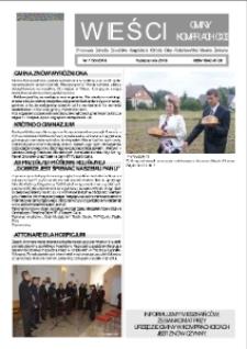 Wieści Gminy Komprachcice : Chmielowice, Domecko, Dziekaństwo [...] 2010, nr 7 (35) [36].