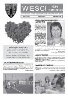Wieści Gminy Komprachcice : Chmielowice, Domecko, Dziekaństwo [...] 2011, nr 14 [4] (42).
