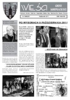 Wieści Gminy Komprachcice : Chmielowice, Domecko, Dziekaństwo [...] 2011, nr 18 [8] (46).