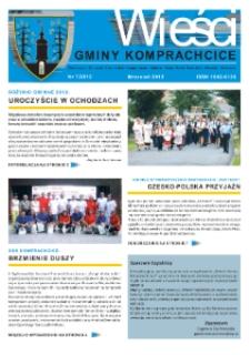 Wieści Gminy Komprachcice : Chmielowice, Domecko, Dziekaństwo [...] 2012, nr 7.