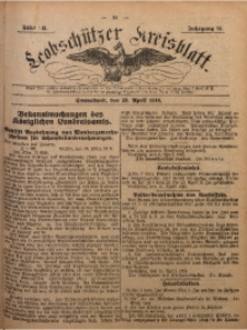 Leobschützer Kreisblatt, 1918, Jg 76, St. 16