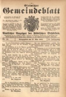 Gleiwitzer Gemeindeblatt, 1933, Jg. 24, Nr. 26