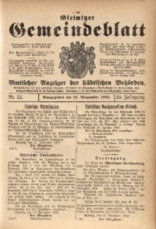 Gleiwitzer Gemeindeblatt, 1933, Jg. 24, Nr. 52