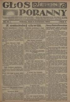 Głos Poranny, 1922, R. 1, nr 12