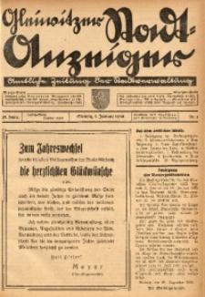 Gleiwitzer Stadt-Anzeiger, 1936, Jg. 27, Nr. 1