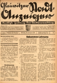 Gleiwitzer Stadt-Anzeiger, 1936, Jg. 27, Nr. 3