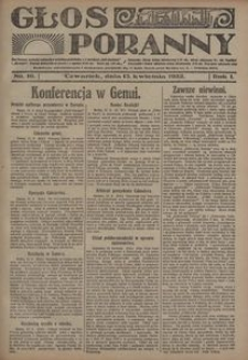 Głos Poranny, 1922, R. 1, nr 16