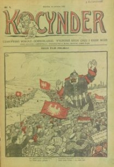Kocynder, 1920, [R. 1], nr 1