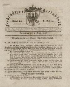 Leobschützer Kreisblatt, 1847, Jg. 5, St. 14