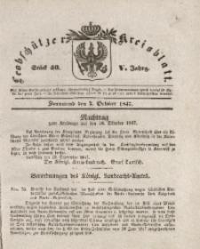 Leobschützer Kreisblatt, 1847, Jg. 5, St. 40