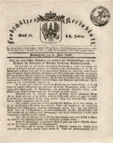 Leobschützer Kreisblatt, 1848, Jg. 6, St. 27
