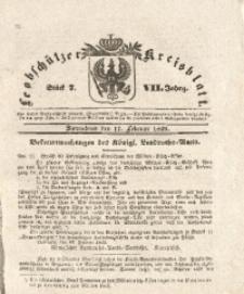 Leobschützer Kreisblatt, 1849, Jg. 7, St. 7