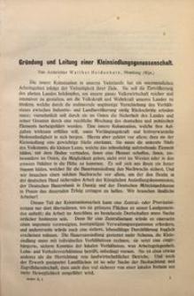 Archiv für Innere Kolonisation, 1910, Bd. 2, H. 1
