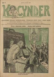 Kocynder, 1920, [R. 1], nr 4