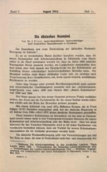 Archiv für Innere Kolonisation, 1912/1913, Bd. 5, H. 11