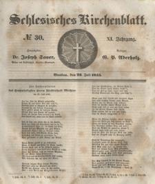 Schlesisches Kirchenblatt, 1845, Jg. 11, nr 30