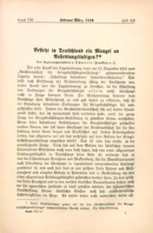 Archiv für Innere Kolonisation, 1915/1916, Bd. 8, H. 5/6