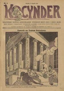 Kocynder, 1920, [R. 1], nr 5