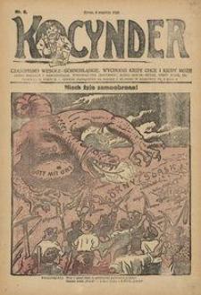 Kocynder, 1920, [R. 1], nr 6