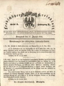 Leobschützer Kreisblatt, 1852, Jg. 10, St. 3