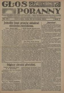 Głos Poranny, 1922, R. 1, nr 20