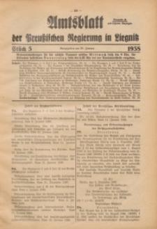 Amtsblatt der Preußischen Regierung in Liegnitz, 1938, Jg. 128, St. 5