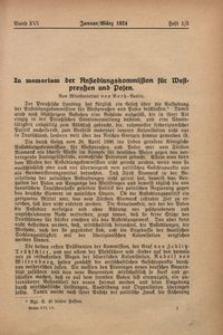 Archiv für Innere Kolonisation, 1924, Bd. 16, H. 1/3