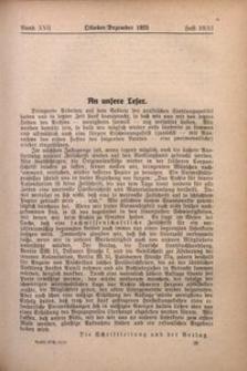 Archiv für Innere Kolonisation, 1925, Bd. 17. H. 10/12