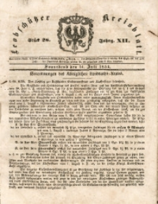 Leobschützer Kreisblatt, 1854, Jg. 12, St. 28