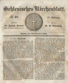 Schlesisches Kirchenblatt, 1845, Jg. 11, nr 48