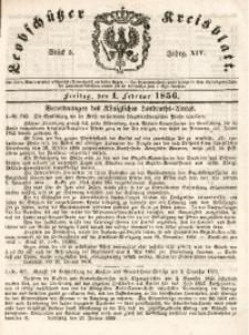 Leobschützer Kreisblatt, 1856, Jg. 14, St. 5