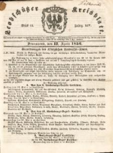 Leobschützer Kreisblatt, 1856, Jg. 14, St. 15
