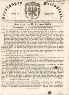 Leobschützer Kreisblatt, 1856, Jg. 14, St. 52