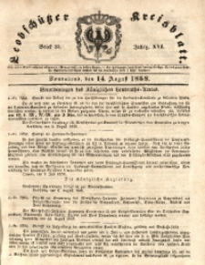 Leobschützer Kreisblatt, 1858, Jg. 16, St. 33
