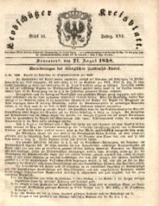 Leobschützer Kreisblatt, 1858, Jg. 16, St. 34