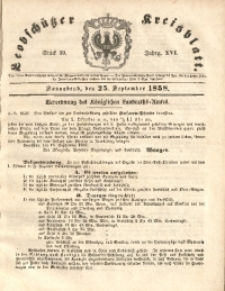 Leobschützer Kreisblatt, 1858, Jg. 16, St. 39