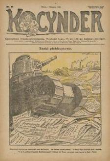 Kocynder, 1920, [R. 1], nr 11
